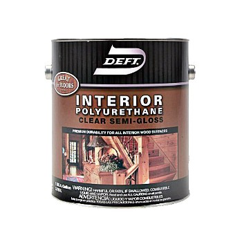Buy The Deft 22401 Interior Polyurethane Semi Gloss Gallon Hardware World