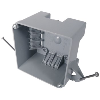 E-Z Electrical Box, Square ~ 32 CU Inch