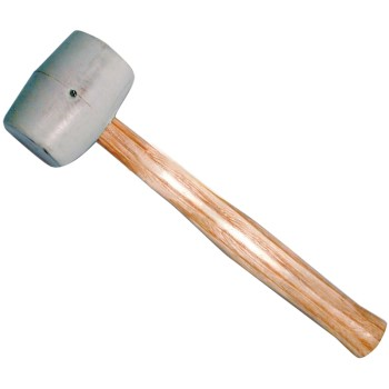 White Rubber Mallet ~ 32 Ounce