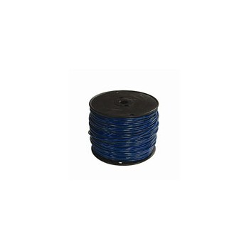 12 Blue 500ft. Thhn Solid Wire