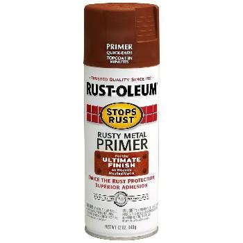 Buy The Rust Oleum 7769830 Rusty Metal Primer Spray 12oz Cans Hardware World