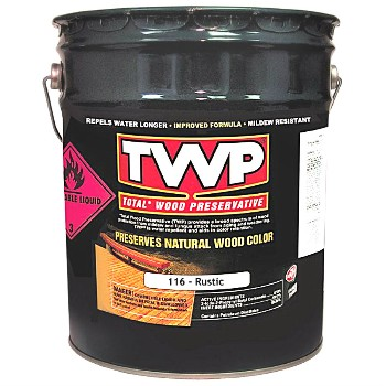 Rustic TWP® Wood Preservative, 5 Gallons