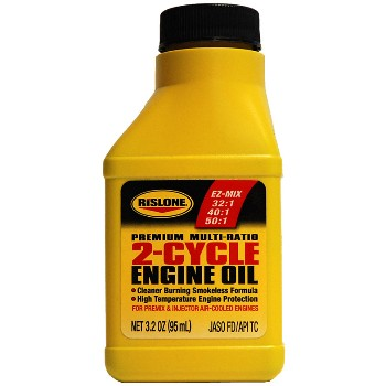 Rislone 2-Cycle Engine Oil ~ 3.2 ounce Bottle