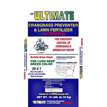 Ultimate Crabgrass Preventer With Dimension, 18 Pounds