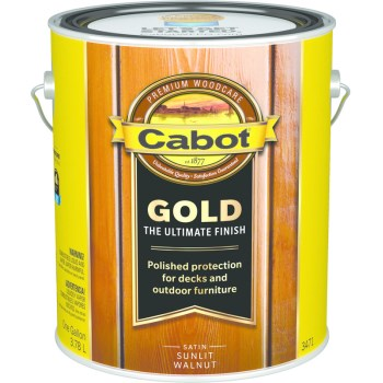 Gold Ultimate Finish Stain, Sunlit Walnut ~ Gallon