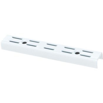 Twin-Track Uprights, White ~ 39.25""