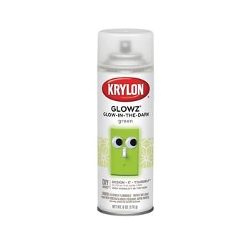 buy the krylon k03150 glow in the dark paint spray. Black Bedroom Furniture Sets. Home Design Ideas