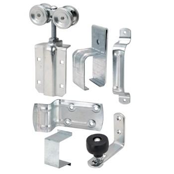 Hardware House Hardware 520304 Square Track Barn Door Install Kit