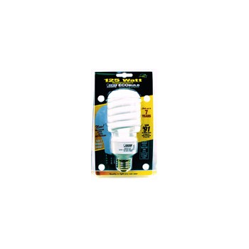 Compact Fluorescent Light Bulb, Mini Twist 30 Watt