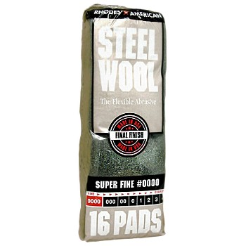 Buy The Ra Homax 106600 06 Steel Wool Pads 0000 Super