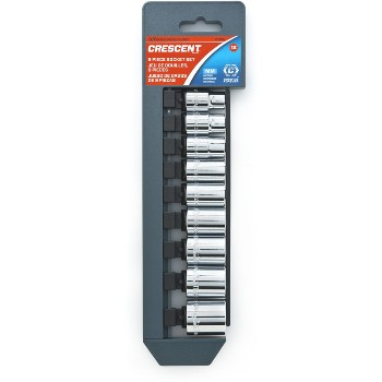 Metric Socket Set ~ 9 piece