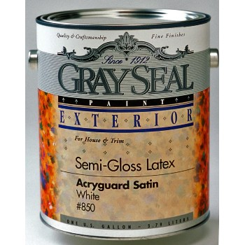 california products gray seal 850 1g wh satin acryguard california. Black Bedroom Furniture Sets. Home Design Ideas