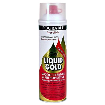 buy the scotts liquid gold p 14 pourable wood cleaner preservative 14 oz hardware world. Black Bedroom Furniture Sets. Home Design Ideas