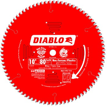 10in. 80t Saw Blade
