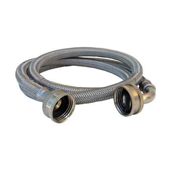 buy the larsen 16 1814 4ft ss wash mach hose hardware world. Black Bedroom Furniture Sets. Home Design Ideas