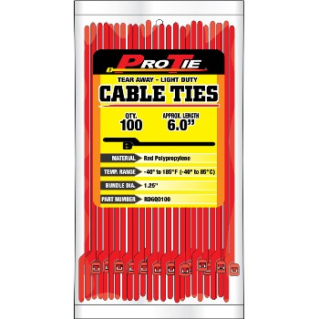 Cable Ties ~ 6in. 100pk