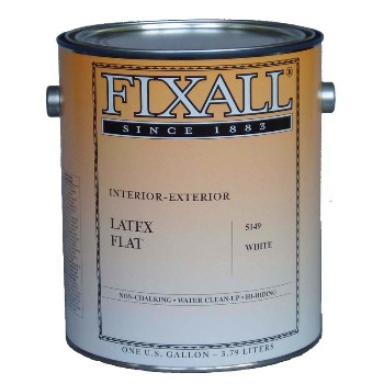 fixall f5149 5149 1g econo latex white interior latex paint. Black Bedroom Furniture Sets. Home Design Ideas