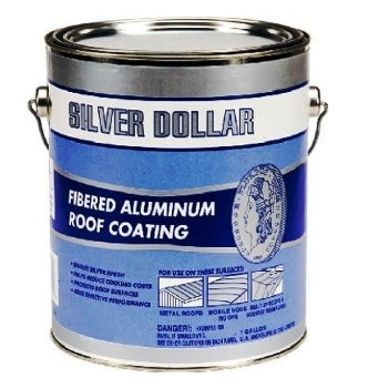 Buy The Silver Dollar 6211 Ga Fibered Aluminum Roof