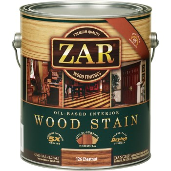 Wood Stain, Chestnut ~ 1 Gallon
