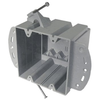 2 - Gang Box W/ Bracket ~ 48 Cubic Inch