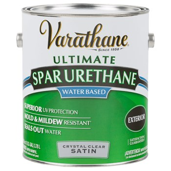 how to apply varathane clear coat