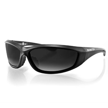 Charger Sunglasses, Smoked Lens, Black Frame
