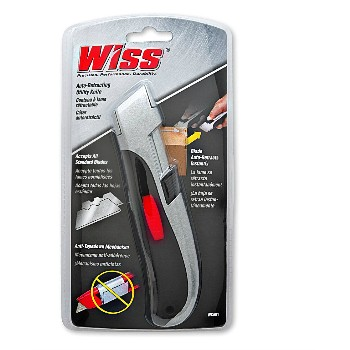 Utility Knife, Wiss Brand Auto-Retracting
