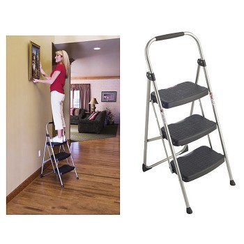 Step Right®  Utility Step Stool,  3 Step Model