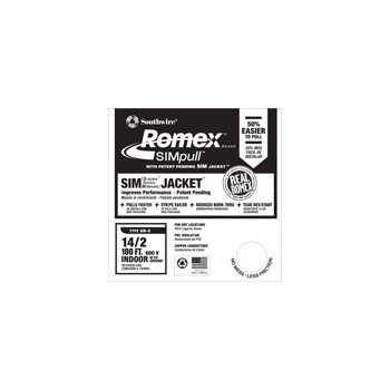 Romex - Grounded NM Wire - 14/2g 100ft.