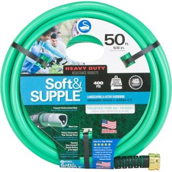 "Swan Soft & Supple 5/8"" x 50 ft. Garden Hose Garden Hose, Hose, Watering Hose, Hoses, Garden Hoses, Watering Hoses, Watering, Garden Watering"