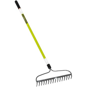 60in. Fbgl Hdle Bow Rake
