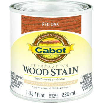 Wood Stain - Red Oak - 1/2 pint