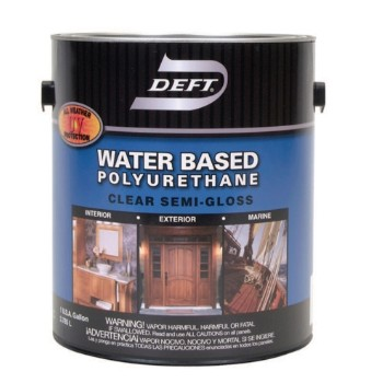 Deft 25801 Polyurethane Finish Water Based Semi Gloss 1 Gal Deft Power Tools Hand