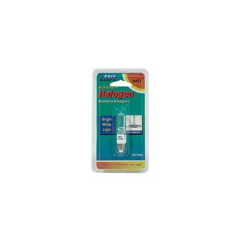 Light Bulb, Mini Candelabra Halogen Clear 120 Volt 75 Watt