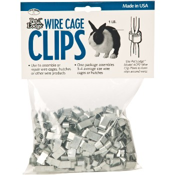 Wire Cage Clips
