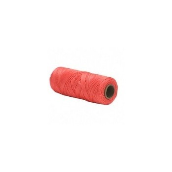 Opti-Brite Neon Orange  Twisted Nylon Seine Twine, #18 x 500'