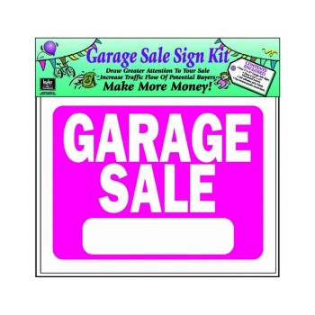 Garage Sale Sign Kit