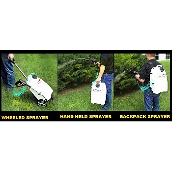 3-in-1 Sprayer, Cordless ~ 4 Gallon