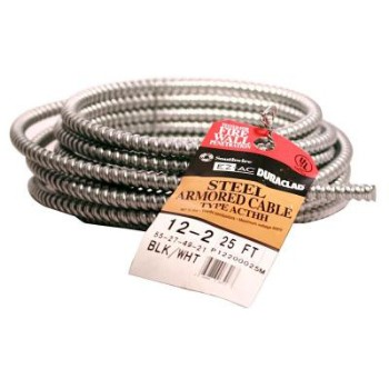 Armorlite Type AC Metal Clad Cable ~ 25 ft
