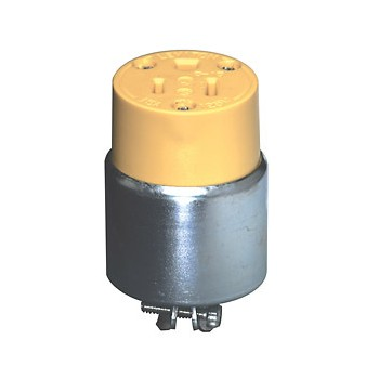 Armored Connector - 3-wire - 15 Amp