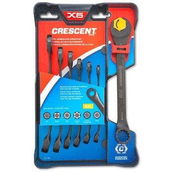 7pc Combo Wrench Set