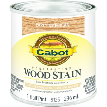 Wood Stain, Early American ~ 1/2 pint