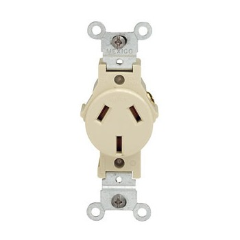 003-5023i Single Ground Outlet