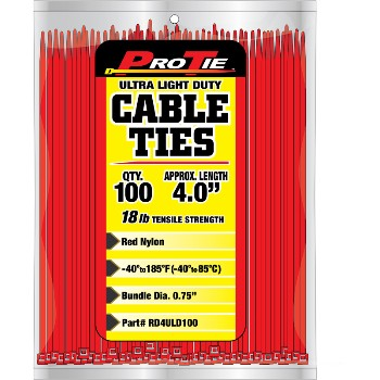 Cable Ties ~ 4in. 100pk
