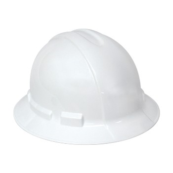 Hard Hat - White Full Brim