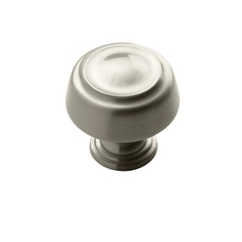 Knob - Satin Chrome Finish - 1.25 inch