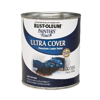 buy the rust oleum 1922730 navy blue gloss half pint hardware world. Black Bedroom Furniture Sets. Home Design Ideas