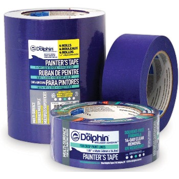 Painters Tape, 4 Pack ~ 1 - 1/2""