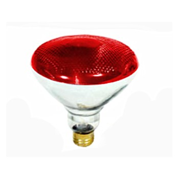 Colored Floodlight, Red 120 Volt 100 Watt