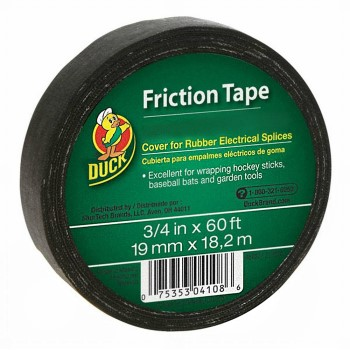 "Black Friction Tape ~  3/4"" x 60 Ft"